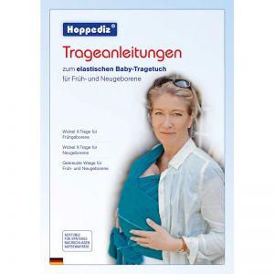Zusätzlich Trageanleitung / Bindeanleitung elastisches Tuch (Deutsch)